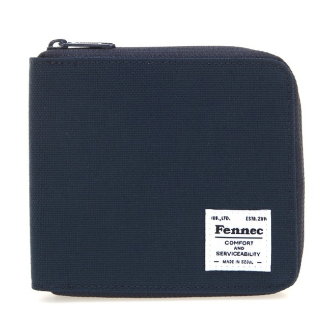 【現貨】C&S ZIPPER WALLET - 海軍藍 /  NAVY