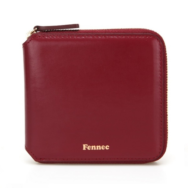 【現貨】ZIPPER WALLET-番茄紅 MARSALA