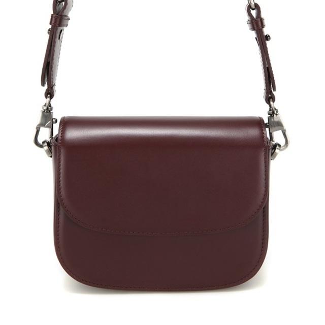 【現貨】TROIS SQUARE BAG - S- 巧克力棕 / WINE