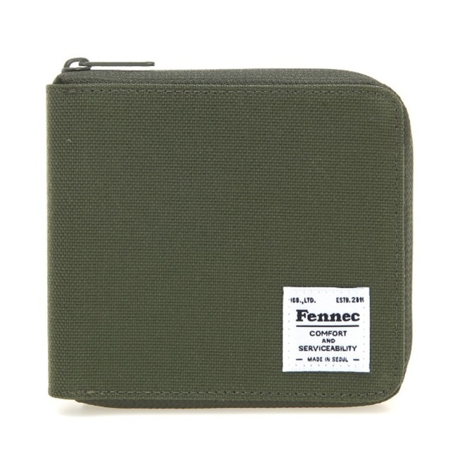 【現貨】C&S ZIPPER WALLET - 軍綠 / KHAKI