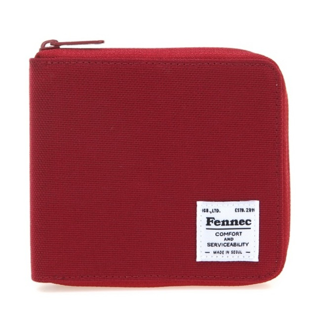 【現貨】 C&S ZIPPER WALLET - 胭脂紅 / SMOKE RED