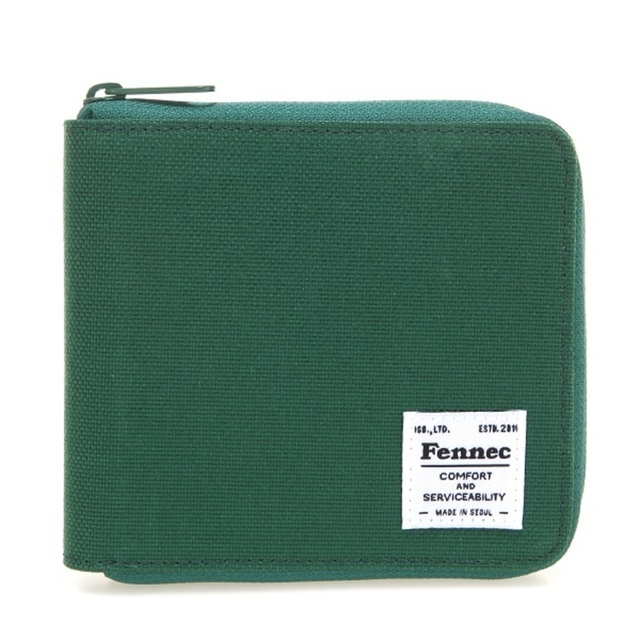 【現貨】C&S ZIPPER WALLET -  綠樹葉 / GREEN