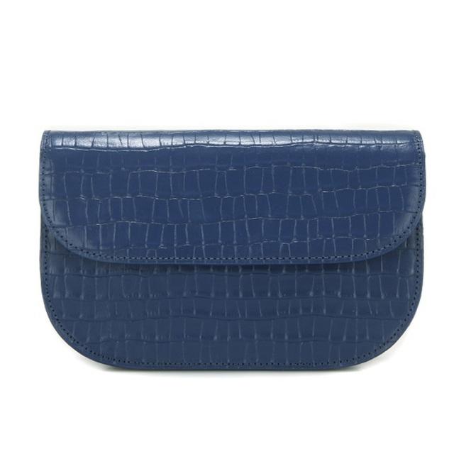 限時優惠【現貨】TROIS BAGUETTE BAG- 靜謐灰藍  / DUSTY BLUE