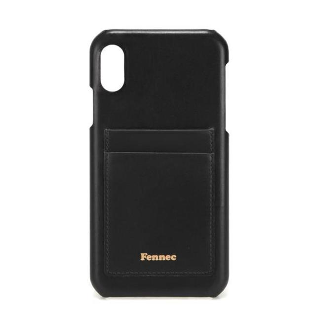 【現貨】LEATHER IPHONE XR CARD CASE - 質感黑 /  BLACK