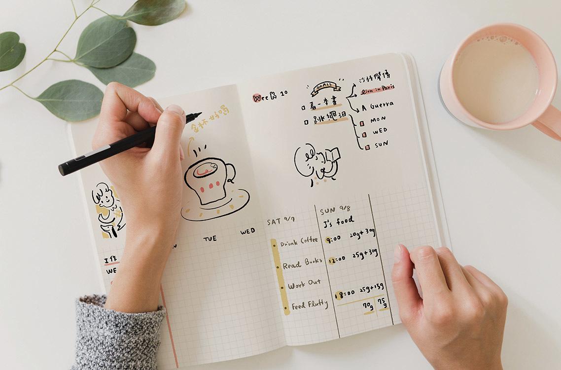 無時效手帳日誌怎麼寫出一流的子彈筆記