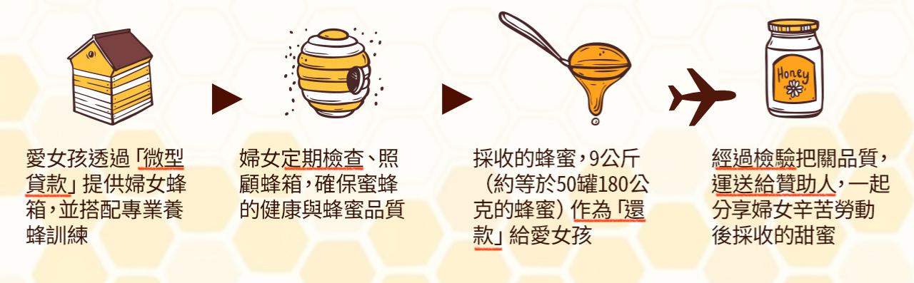 蜂箱計畫助養流程