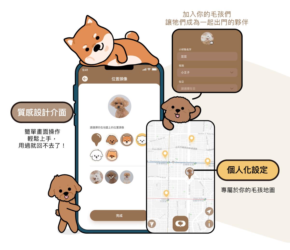 iFlubby APP個人化資訊頁面展示